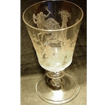 Collectable engraved glass EG19