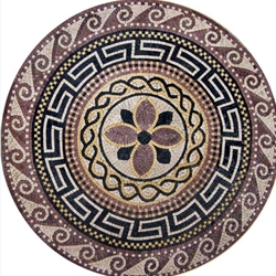 Marble Mosaic Medallion - MM005