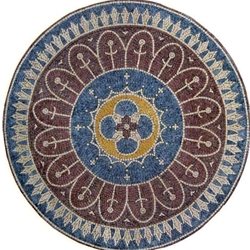 Marble Mosaic Medallion - MM008