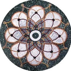 Marble Mosaic Medallion - MM090