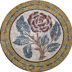 Marble Mosaic Medallion - MM111