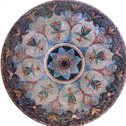 Marble Mosaic Medallion - MM230