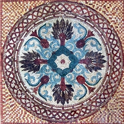 Marble Mosaic Geometric Design - MG170