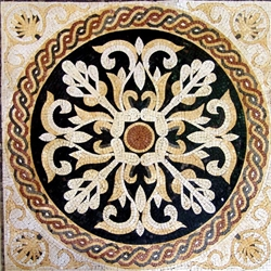 Marble Mosaic Geometric Design - MG202