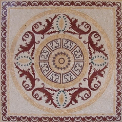 Marble Mosaic Geometric Design - MG220