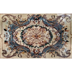Marble Mosaic Rugs - MG059A
