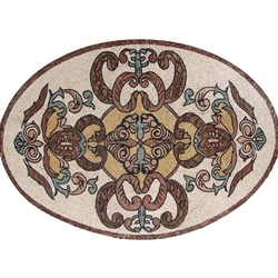 Marble Mosaic Rugs - MM277