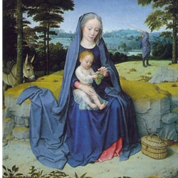 The Rest on the Flight to Egypt, c. 1510, David, Gerard