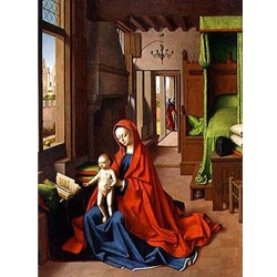 The Holy Family in a Domestic Interior Petrus Christus - Flemish
