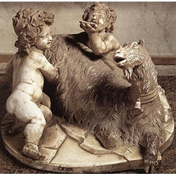 The Goat Amalthea with the Infant Jupiter and a Faun 1615