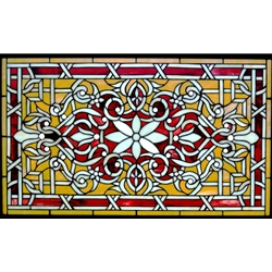 Stained window glass panel LTSP34-20∕0