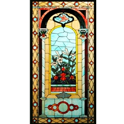 Stained window glass panel LTSP60-30∕03