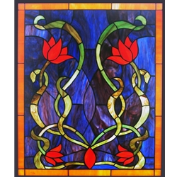 Stained window glass panel LTSP24-20∕22