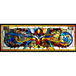 Stained window glass panel LTSP14-42∕30