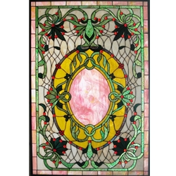 Stained window glass panel LTSP45-30∕32