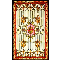 Stained window glass panel LTSP34-20∕35
