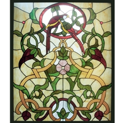 Stained window glass panel LTSP37-30∕37B