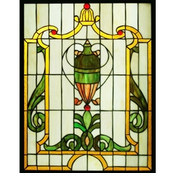 Stained window glass panel LTSP24-18∕38