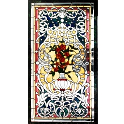 Stained window glass panel LTSPB51-28∕50