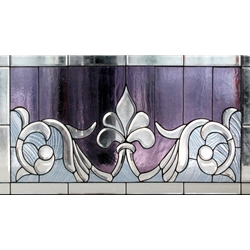 Stained window glass panel LTSPB18-32∕55