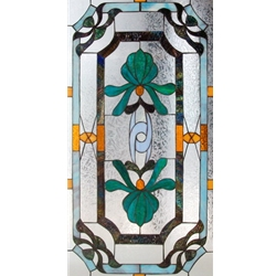 Stained window glass panel LTSP39-19∕83