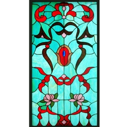 Stained window glass panel LTSP39-19∕105