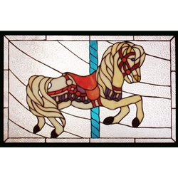 Stained window glass panel LTSP16-25∕114