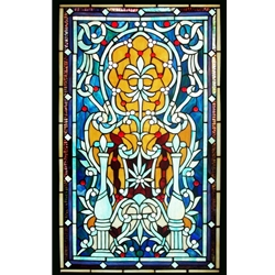 Stained window glass panel LTSP72-40∕21