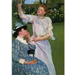 Young Women Picking Fruit, Mary Cassatt, 1891/92