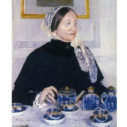 Lady at the Tea Table, 1883