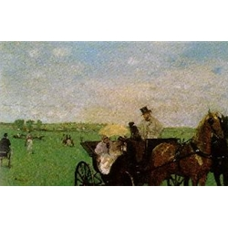 At the Races in the Country, c. 1872