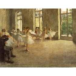 The Rehearsal, c. 1873-78