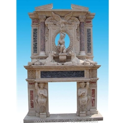 Marble Fireplace  SF-070