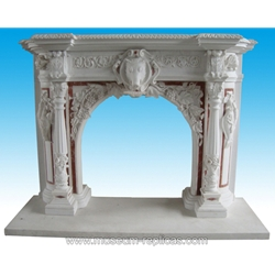 Marble Fireplace  SF-166