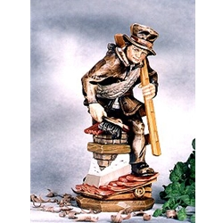 Woodcarving Chimney sweeper