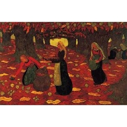 Chestnut Gatherers 1893-94 Georges Lacombe