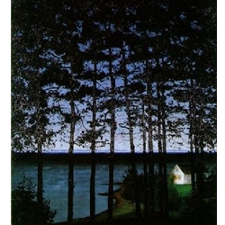 House of the Fisherman, Harald Sohlberg
