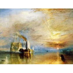 "The Fighting ""Temeraire"" tugged to her last berth to be broken up"
