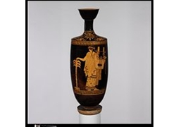 Apollo with Kithara and Palm Tree Lekythos