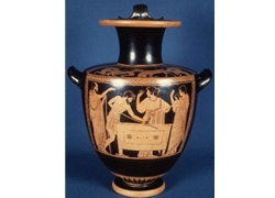 Red Figure Hydria (Water Jug)