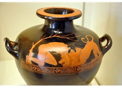 Herakles and the Nemean Lion Water Jar