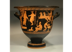 Bell Krater the Scene on the Krater is Based