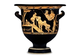 Bell Krater a Scene from a Comedy