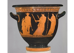 Bell Krater the Return of Persephone to her Mother