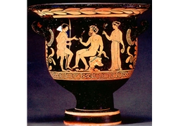 Bell Krater Apulian Red Figure