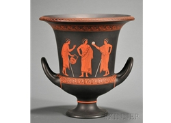 Calyx Krater Three Young Man