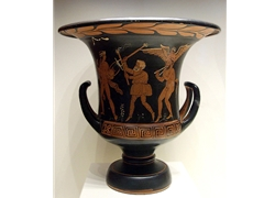 Calyx Krater Procession