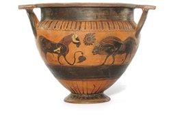 Column Krater Ram and Boar