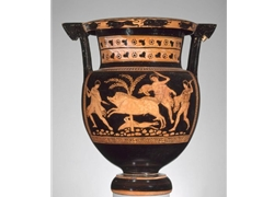Column Krater Boar Hunt