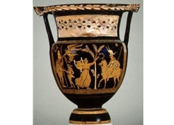 Column Krater Homecoming of Victorious Italic Warriors